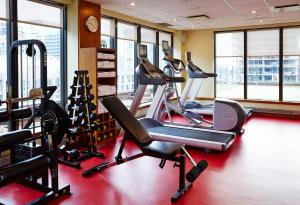 The fitness center and/or fitness facilities at Le Germain Hotel Toronto