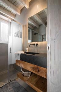 A bunk bed or bunk beds in a room at Baqueira-Beret ERA CABANA, Salardu+Parking Val de Ruda