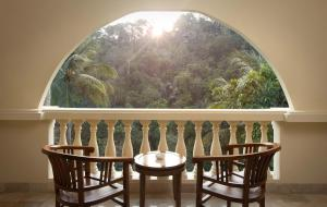 A balcony or terrace at Ayung Resort Ubud