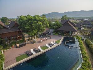 วิว A-Star Phulare Valley, Chiang Rai จากมุมสูง