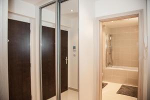Koupelna v ubytování 006 Angel Apartment