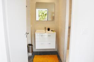 Salle de bains dans l'établissement Hotel La Chaize
