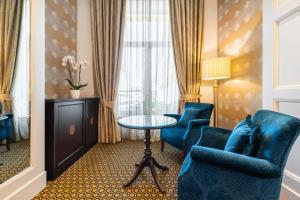 Zona de estar de Eurostars Gran Hotel La Toja