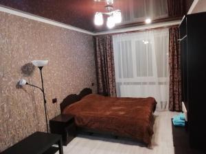 Кровать или кровати в номере Мини Отель Дего
