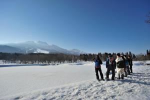 Resort Project Myoko Kogen during the winter