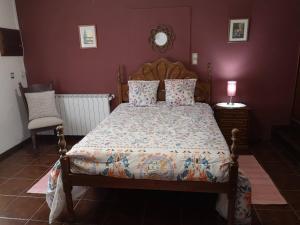 A bed or beds in a room at Casa De Sao Joao
