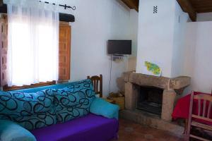 Zona de estar de Casas Rurales Quijote y Sancho