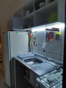 A cozinha ou cozinha compacta de Aurea Flats