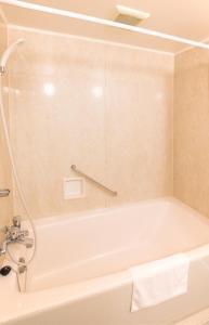 A bathroom at Hotel Montagne Matsumoto