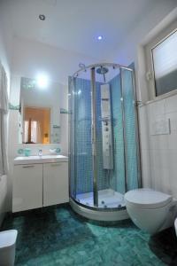 Um banheiro em Villa Adriana Amalfi