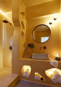 Kylpyhuone majoituspaikassa Aeon Suites - Adults Only