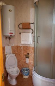 Ванная комната в Гостиница Колос
