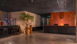 Hall ou réception de l'établissement Kvareli Lake Resort