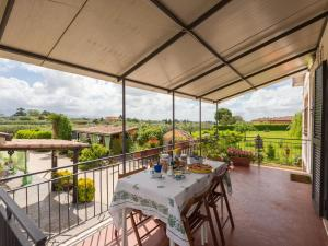 A balcony or terrace at Locazione Turistica Rossella