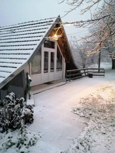 Apartman Nino during the winter