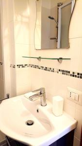 A bathroom at CASA BONADIES