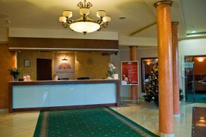 The lobby or reception area at Hotel Novum & Spa
