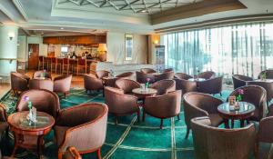 The lounge or bar area at Sabah Oriental Hotel