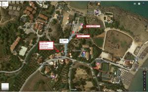 A bird's-eye view of Plaka Beach Resort