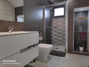 A bathroom at Casa Mi Lanzarote