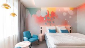 Letto o letti in una camera di Break Sokos Hotel Flamingo