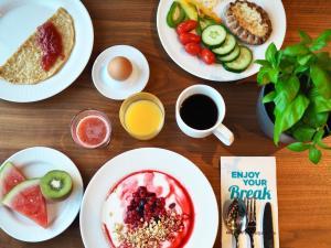 Colazione disponibile per gli ospiti di Break Sokos Hotel Flamingo