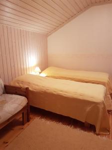 Vuode tai vuoteita majoituspaikassa Ranta-Keurula