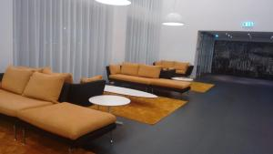 A seating area at Hotel Mercure Braga Centro