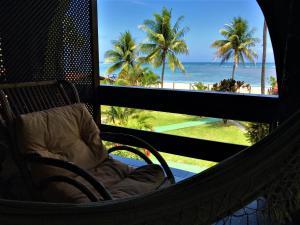 Uma varanda ou terraço em Catavento Praia Hotel