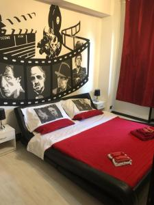 A bed or beds in a room at B&B Il Sognatore