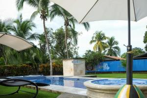 The swimming pool at or near Yubarta Lodge