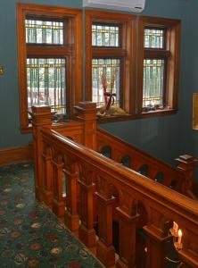The lounge or bar area at Brumder Mansion B&B