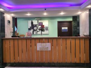 O saguão ou recepção de Grand Star Al Saha Hotel