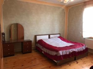 Cama ou camas em um quarto em iron river house