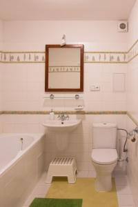 Ванная комната в Apartmany A.Ša Kašperské Hory