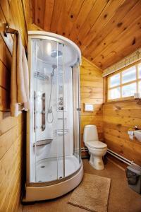 Ванная комната в Гостевой Дом Рябушинка
