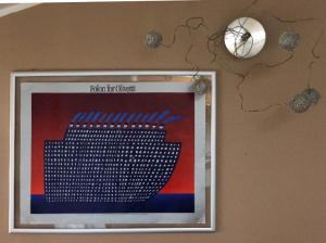 TV o dispositivi per l'intrattenimento presso La mansarda di Orni