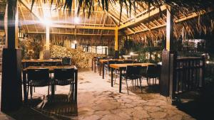 A restaurant or other place to eat at The Strand Boracay