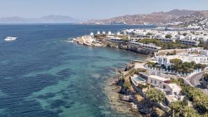 A bird's-eye view of Belvedere Mykonos - Waterfront Villa & Suites