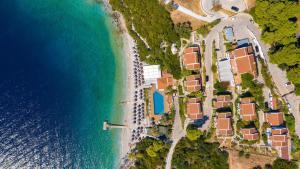 A bird's-eye view of Adrina Beach Hotel