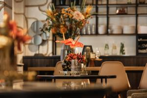 A restaurant or other place to eat at The Delphi - Amsterdam Townhouse