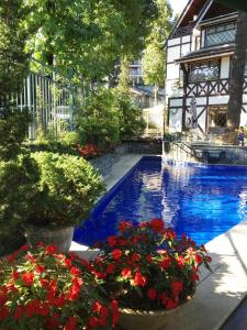The swimming pool at or near Hotel Frontenac