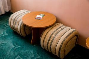 A seating area at Struma Hotel