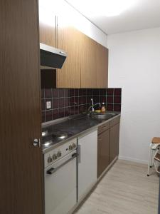A kitchen or kitchenette at Curtinfess Rezzonico