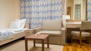 Гостиная зона в мини-отель Arctic Hotel