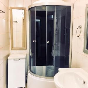Ванная комната в мини-отель Arctic Hotel