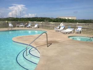 The swimming pool at or near Cape Hatteras Motel