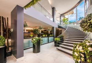 The lobby or reception area at Hotel da Rocha