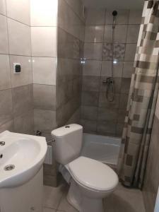 Łazienka w obiekcie Pawilon 12
