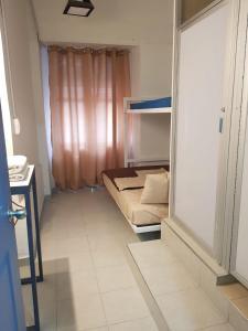Cama o camas de una habitación en Hostel Historico Centro